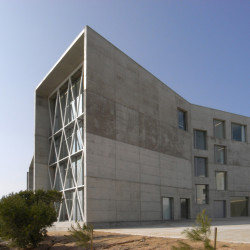 Communications Faculty of San Jorge University West Fassade