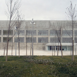 Communications Faculty of San Jorge University Nord Fasssade 2