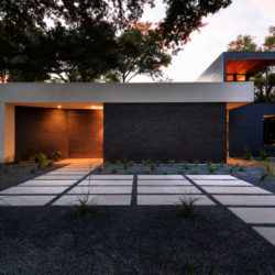 Main Stay House_Front Facade_Night