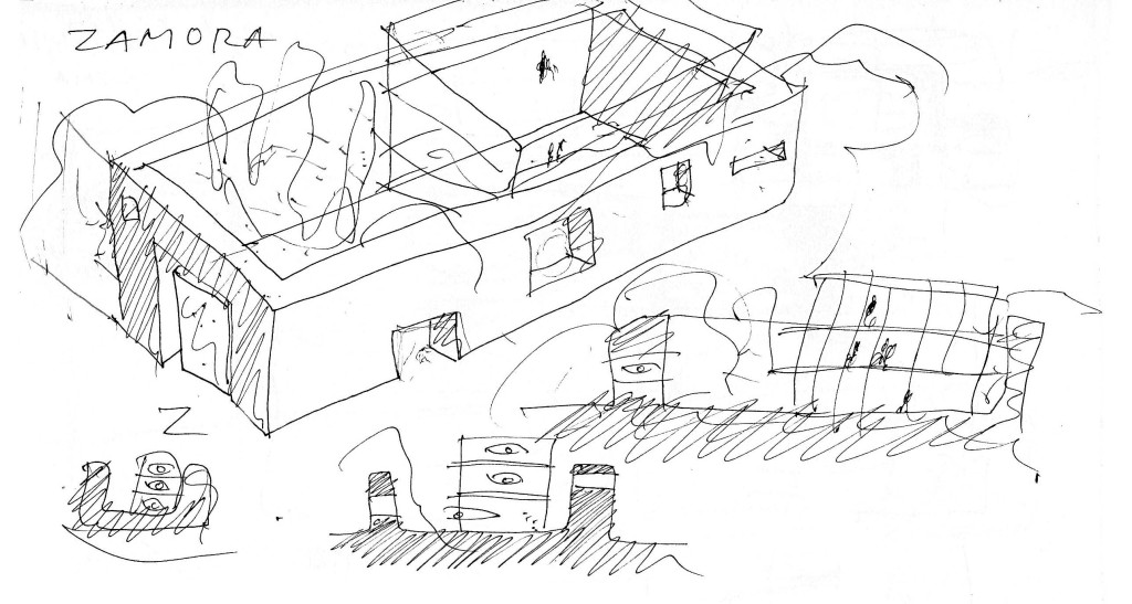 Offices Zamora Sketches 4