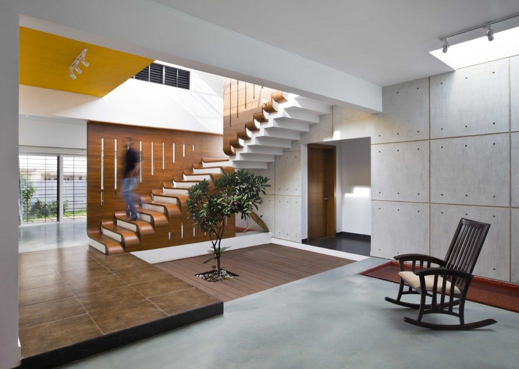Courtyard House in Bangalore