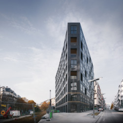 40 Housing Units Frontalansicht