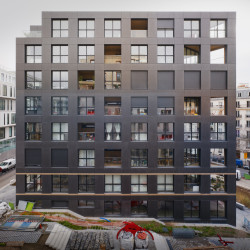 40 Housing Units Tagesansicht
