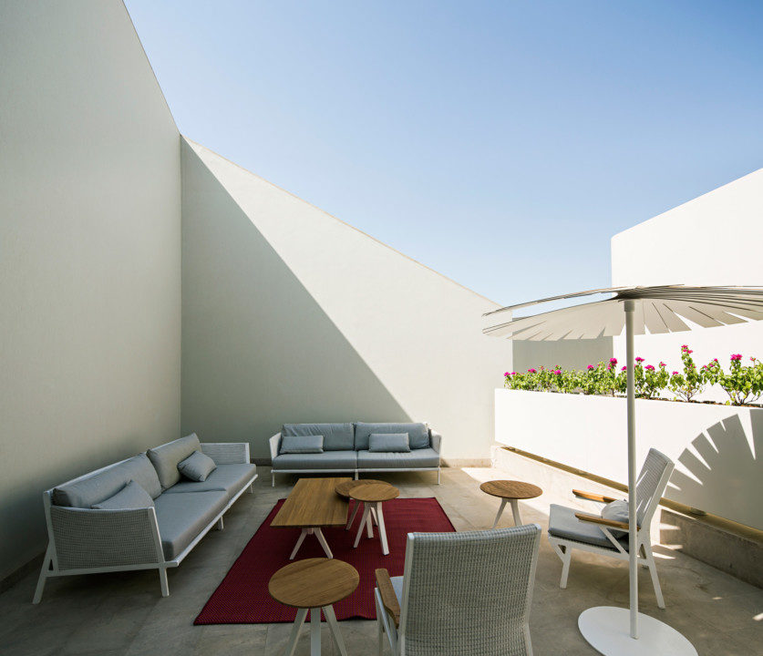 Wall House Terrasse