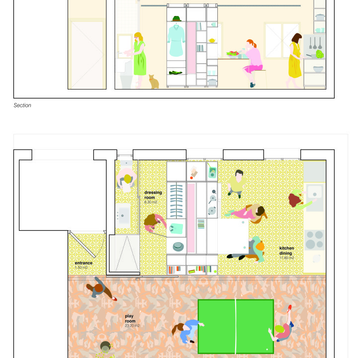 ALL I OWN HOUSE Grundriss 2