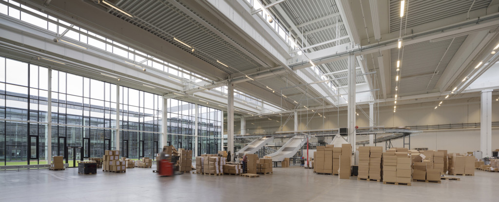 BESTSELLER LOGISTICS CENTRE NORTH Innenansicht