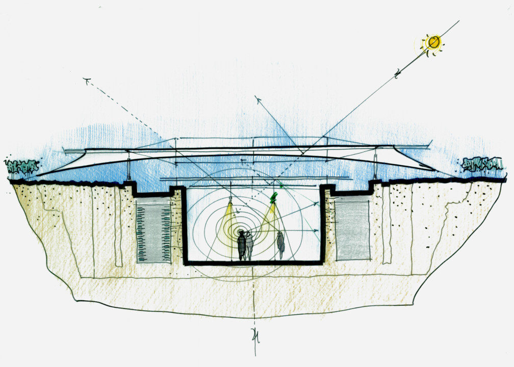 Chaateau La Coste Art Gallery_Plan_2