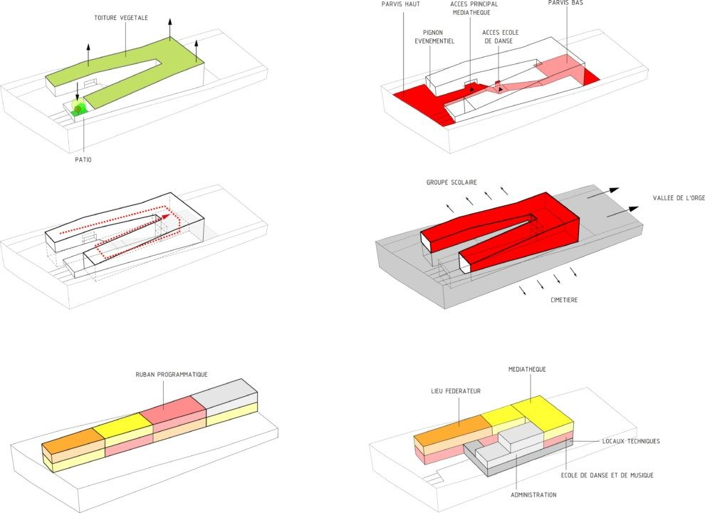 Cultural Center in St. Germain_plan_17