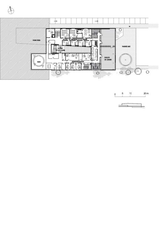 Cultural Center in St. Germain_plan_6