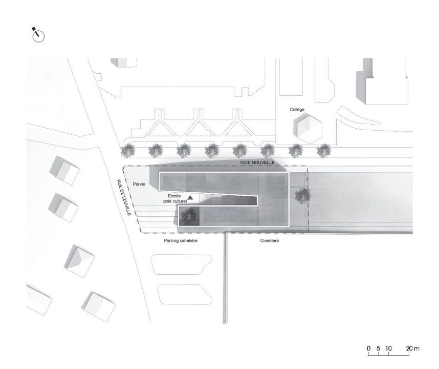 Cultural Center in St. Germain_plan_7