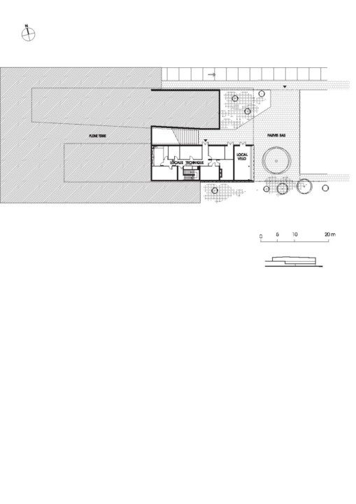 Cultural Center in St. Germain_plan_8