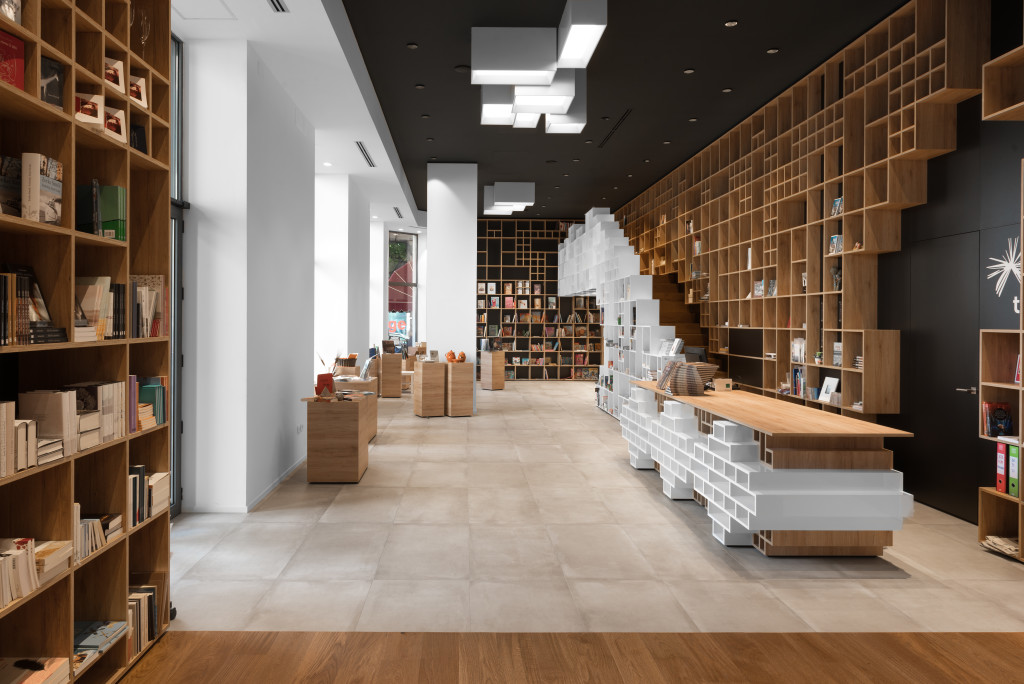 Slovenian Book Center - Innenansicht 1