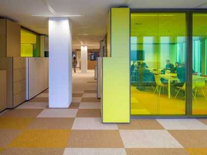 Interior Design Municipal Offices 'De Rotterdam'