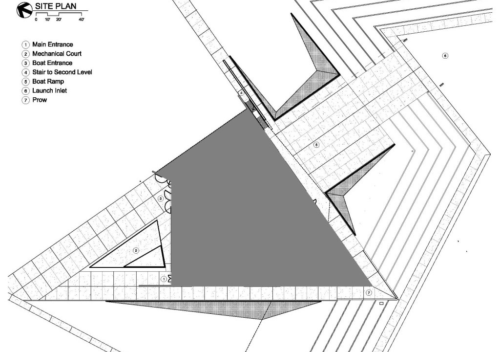 Devon Boathouse Site Plan