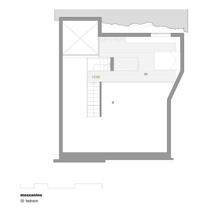House for a painter_plan_2