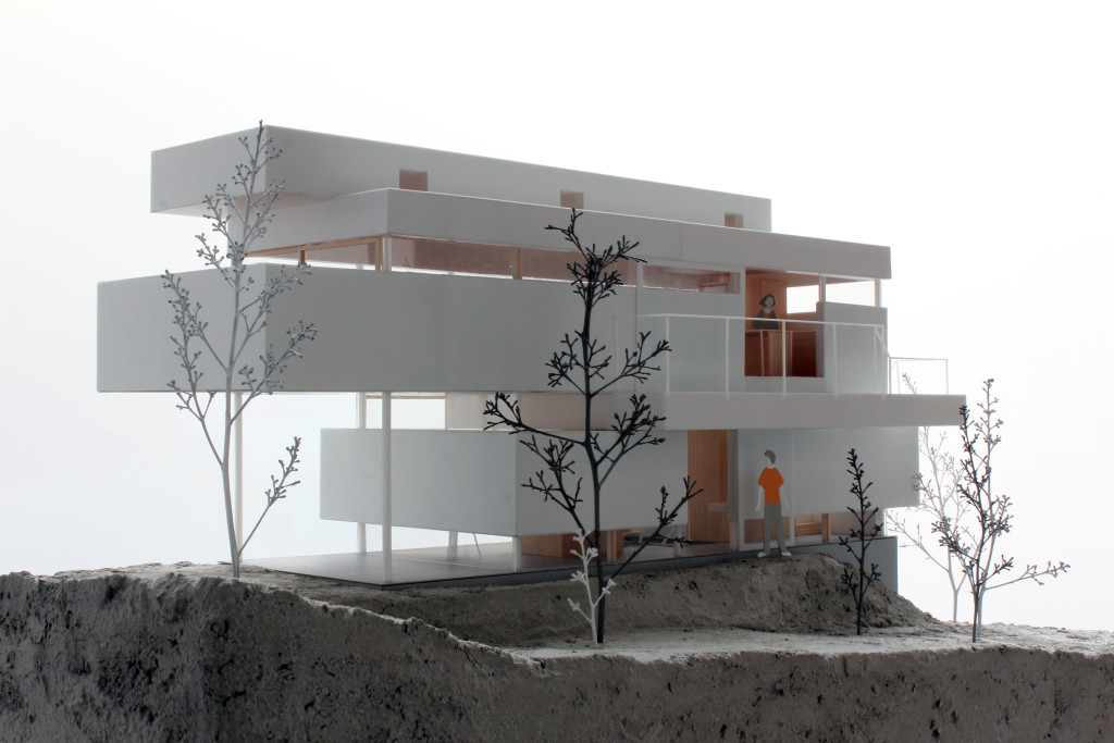 House in Toyonaka_Modell_2