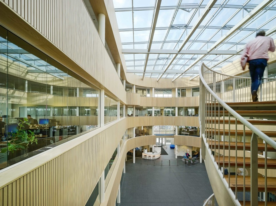 Headquarters Inalfa Venray Netherlands Office Building