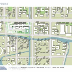 Kunshan Eastern Healthcare Center_Lageplan