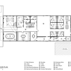 Lingo Construction Services First Floor Plan