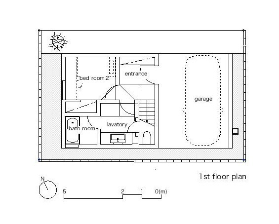 Little House with a Big Terrace_plan 1