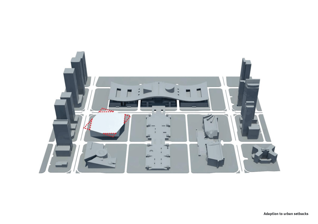 Museum of Contemporary Art & Planning Exhibition 3D Lageplan 2
