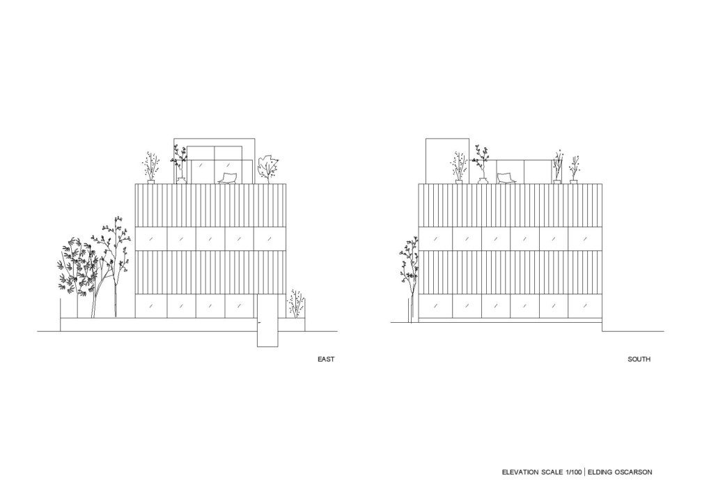 Nerima House_Elevations