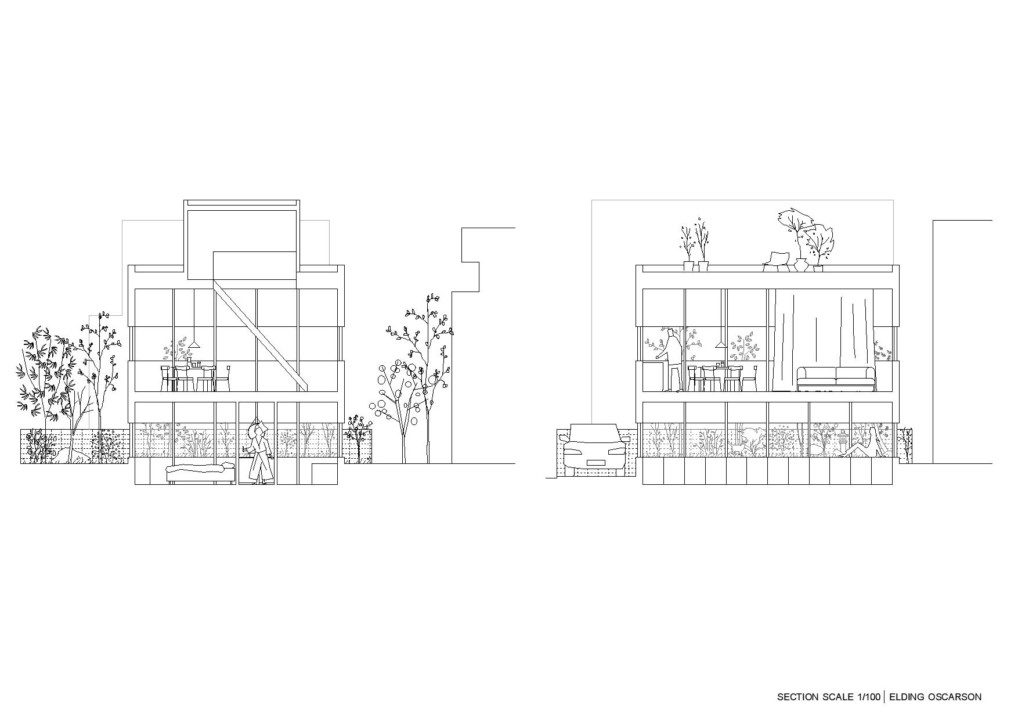 Nerima House_Sections