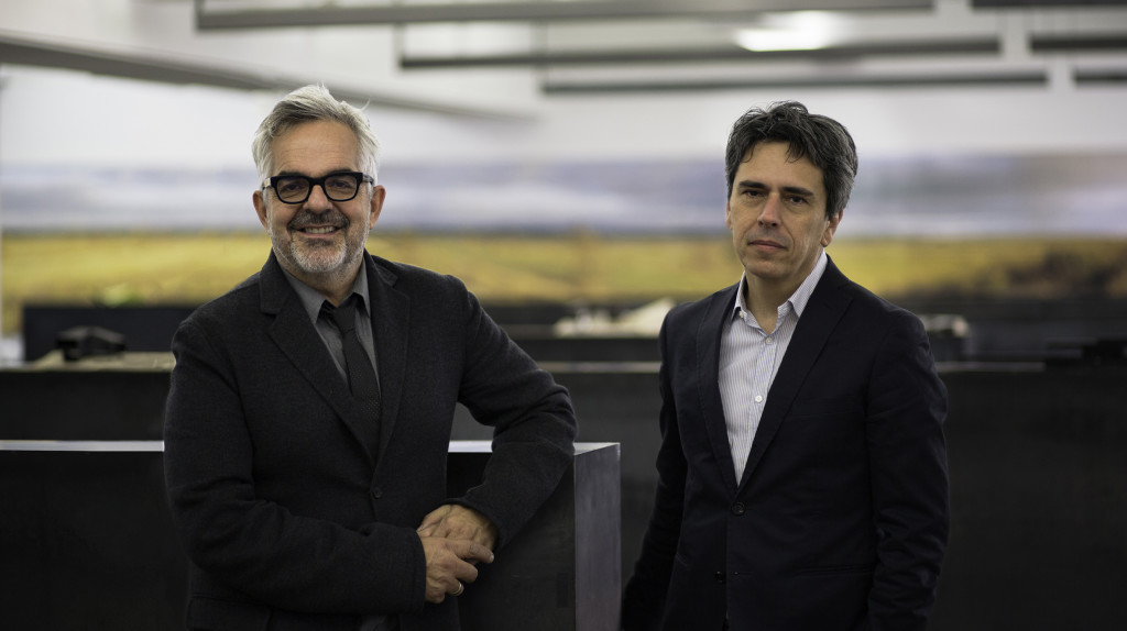 Partners_Gilles Saucier (left) and Andre Perrotte (right)