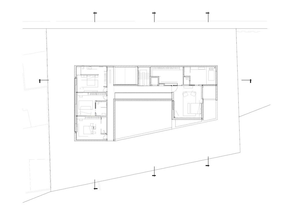 Pitsou Kedem Architects_J House_ Plan 3