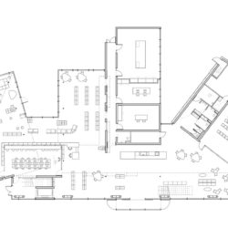 Public Library in Estaminet_plan 1