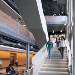 Purdue University Center for Student Excellence and Leadership Treppe 2