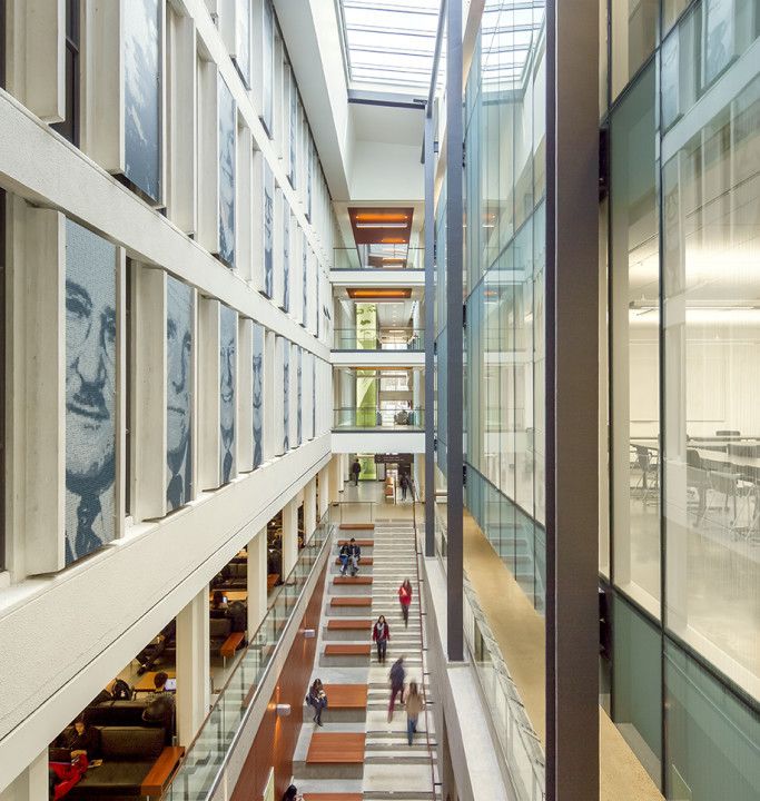 UBC Sauder School of Business Atrium