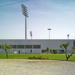 Sports facility in the Island of La Cartuja gesamt