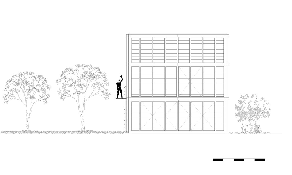 TID Annex Front elevation