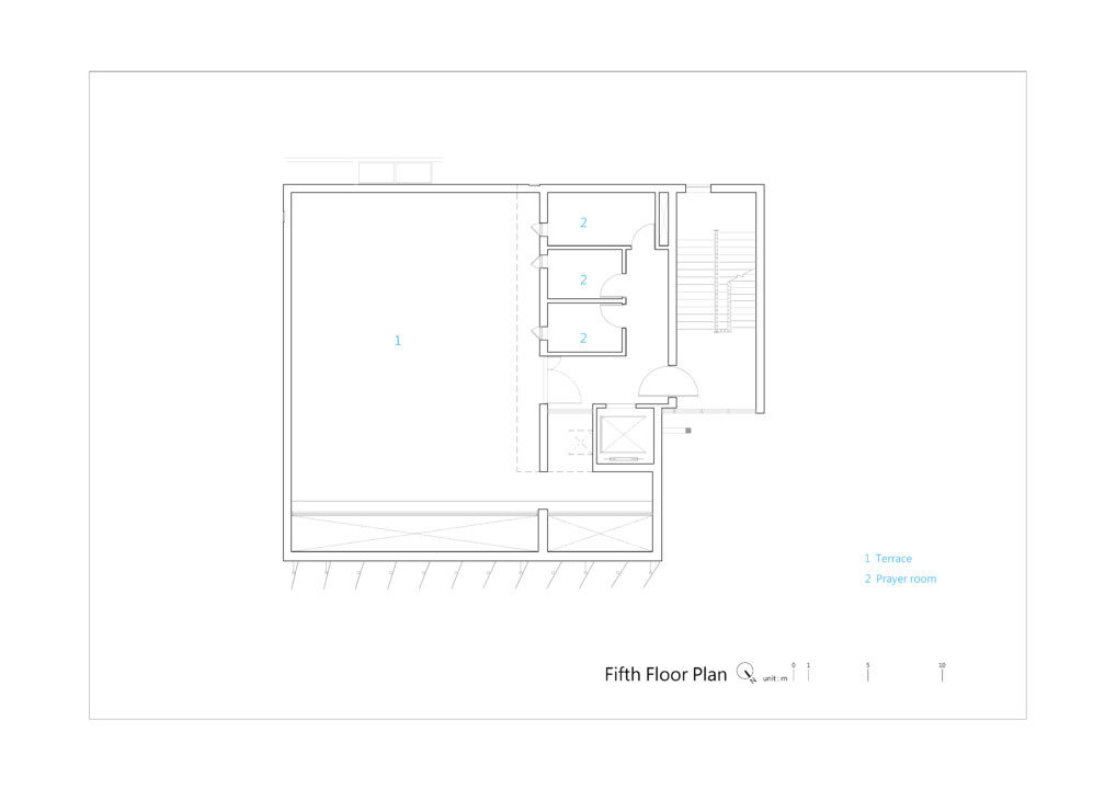 TTMHC_Fifth Floor Plan