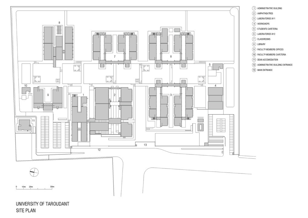 Taroudant University_Plan_1