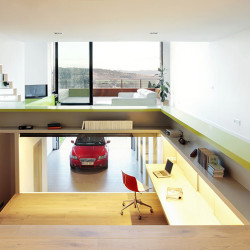 Terraced House Garage