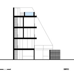 Vertical House Schnitt 2