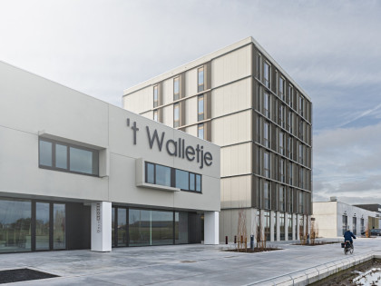 Business complex building 't Walletje Knokke-Heist