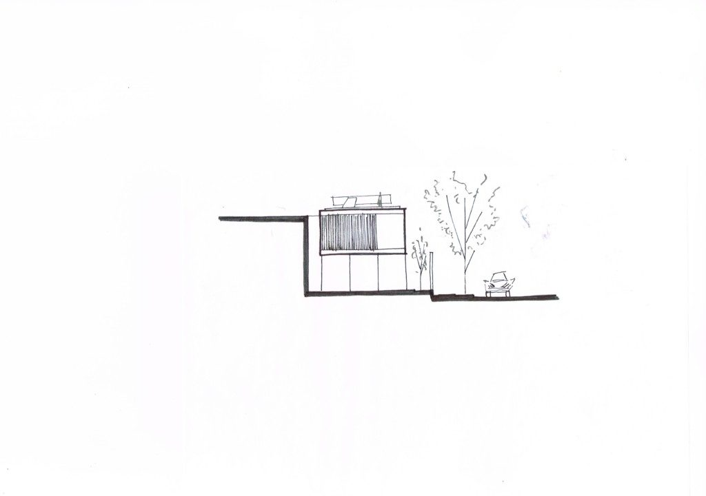box house_side facade