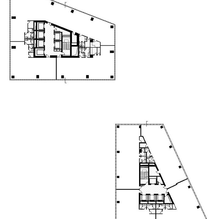 Strojarska Skyscrapers - Typical floor plan
