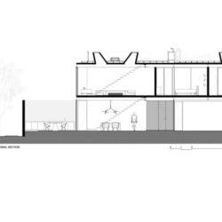 willo house_longitudinal section-001