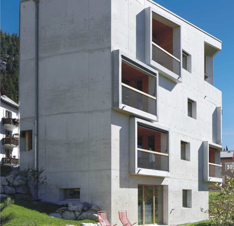 Alpine Lodging Ansicht
