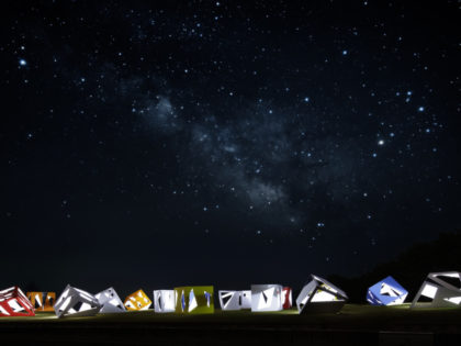 Constellation of Stargazing Tea Rooms / SEI-AN
