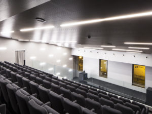 "New Auditorium of the B.C.C. ""G. Toniolo"" Bank"