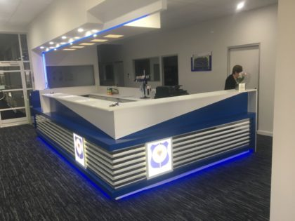 Maitland Reception desk