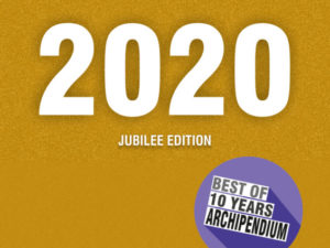 ARCHIPENDIUM 2020 – Jubilee Edition | nur noch wenige Exemplare erhältlich